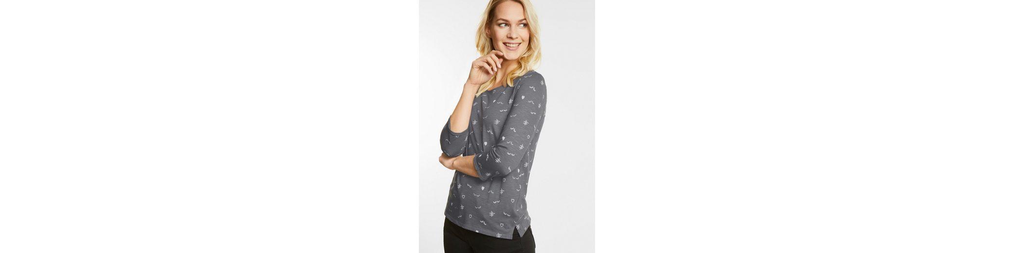 CECIL Symbol Print Shirt Billig Verkauf Erkunden Shop Online-Verkauf Kauf Günstig Kaufen Offiziellen 7u7xjc