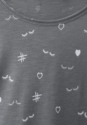 CECIL Symbol Print Shirt