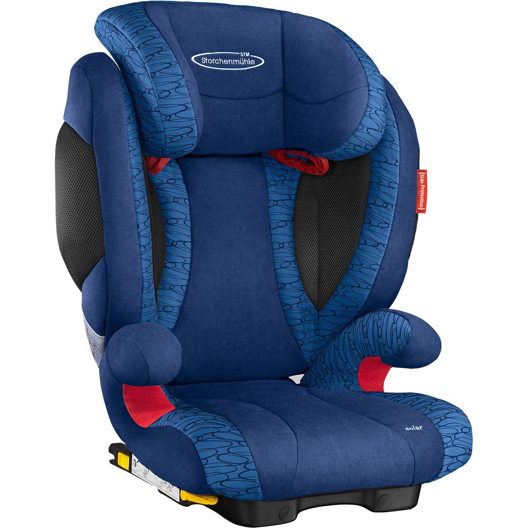 Storchenmühle Auto-Kindersitz Solar 2 Seatfix, Navy