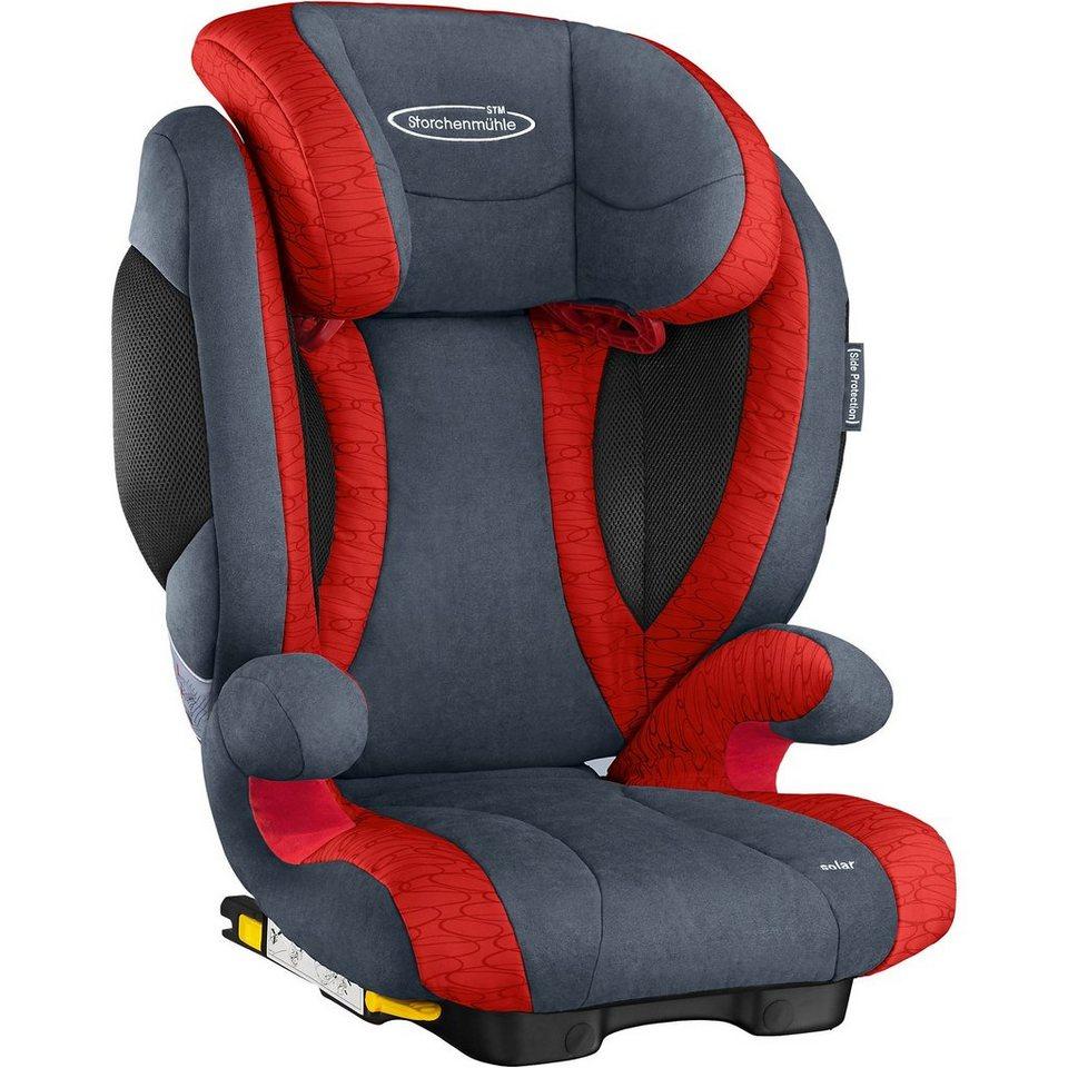 storchenm hle auto kindersitz solar 2 seatfix chilli. Black Bedroom Furniture Sets. Home Design Ideas