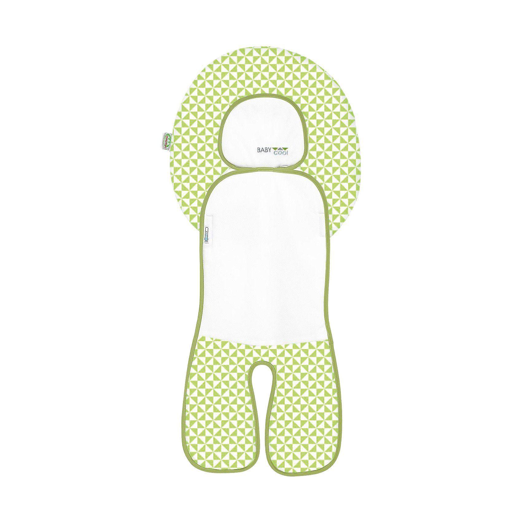 Odenwälder Babycool Auflage für den Autositze, limette