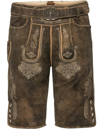 Almsach Short Leather Pants