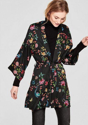 s.Oliver RED LABEL Leichter Blazer im Kimono-Stil