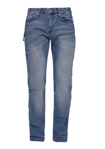 s.Oliver RED LABEL Tubx Straight: Used-Jeans