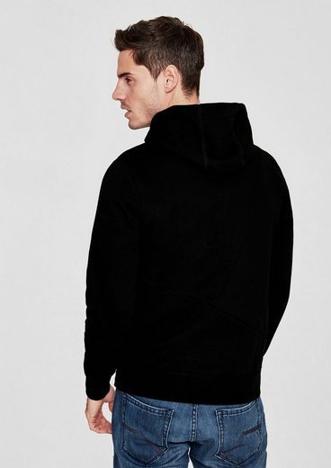 S.oliver Red Label Hooded Sweatshirt With Lettering