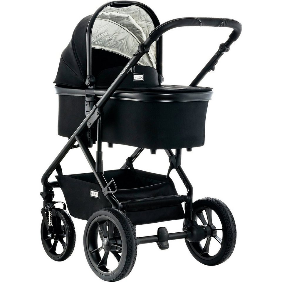 moon kombi kinderwagen nuova city black fishbone 2018 online kaufen otto. Black Bedroom Furniture Sets. Home Design Ideas