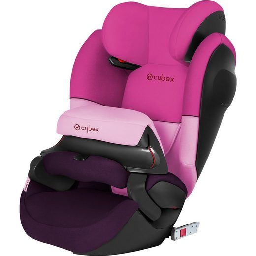 Cybex Auto-Kindersitz Pallas M-Fix SL, Silver-Line, Purple Rain-Pu