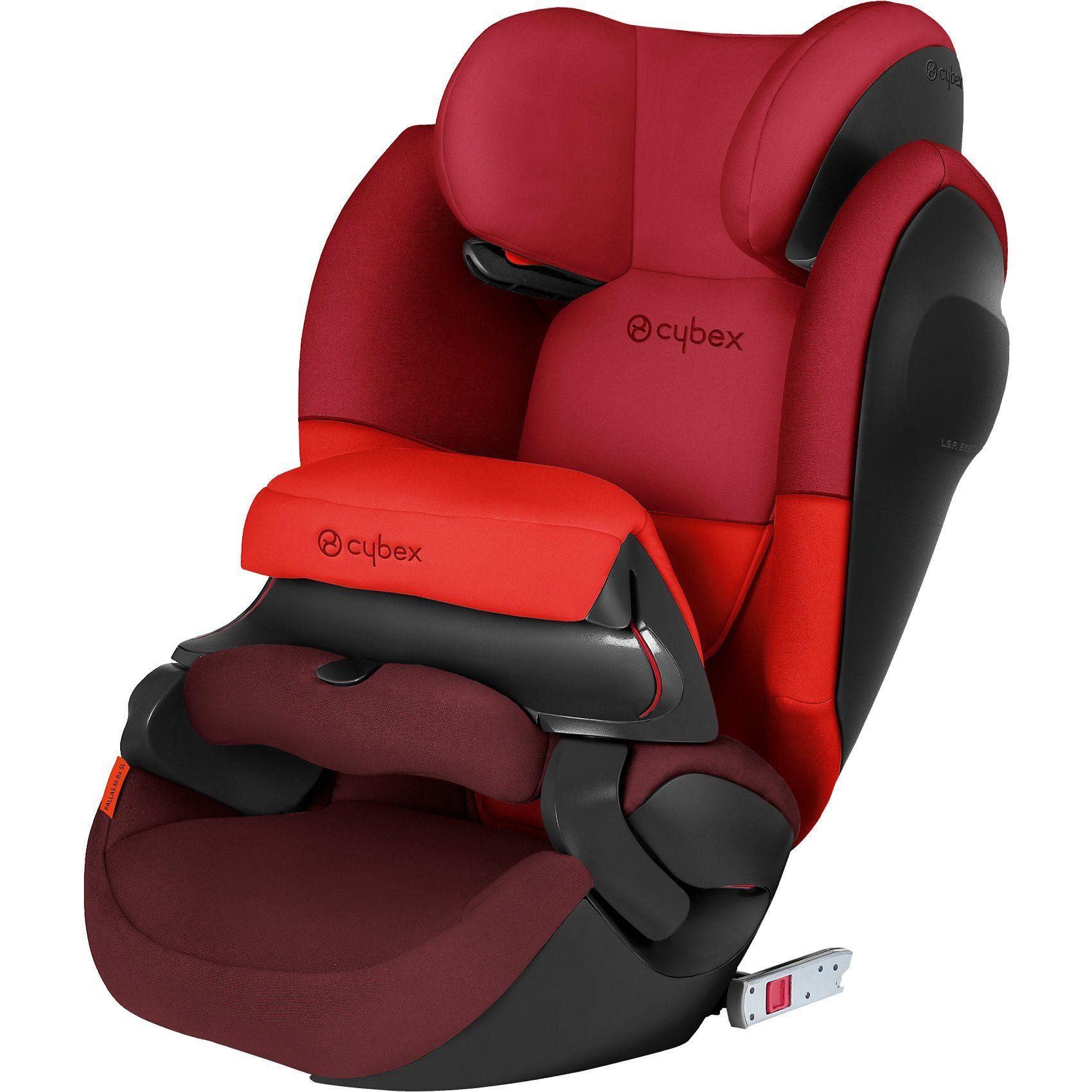 Cybex Auto-Kindersitz Pallas M-Fix SL, Silver-Line, Rumba Red-Dark