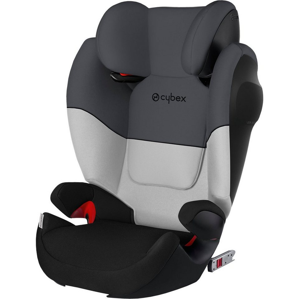 cybex auto kindersitz solution m fix sl silver line grey. Black Bedroom Furniture Sets. Home Design Ideas