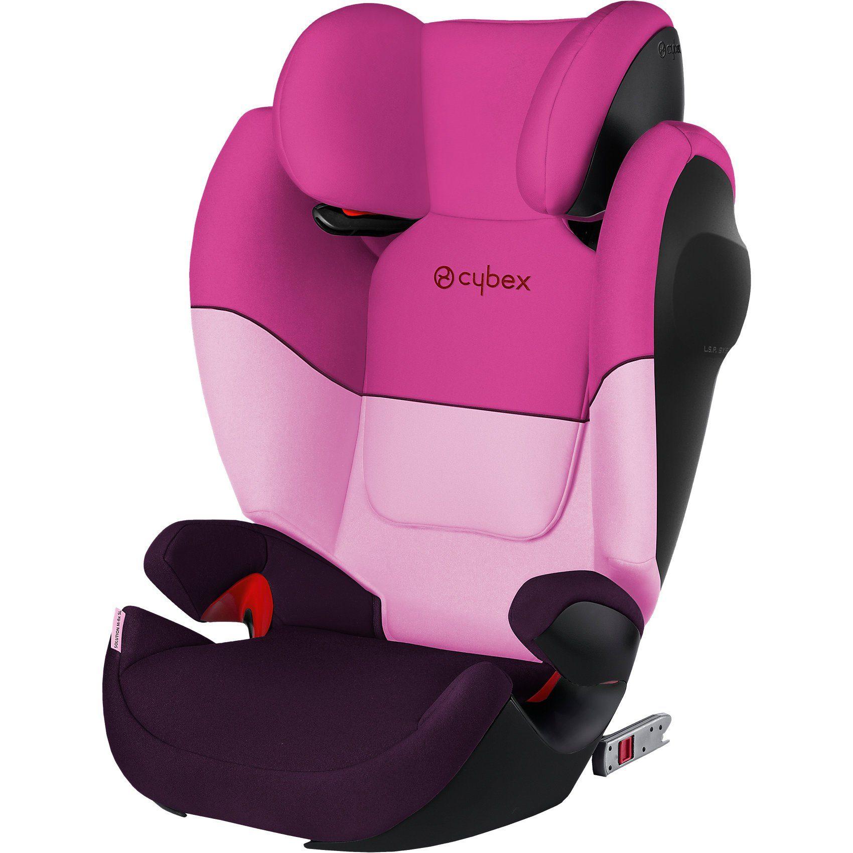 Cybex Auto-Kindersitz Solution M-Fix SL, Silver-Line, Purple Rain-