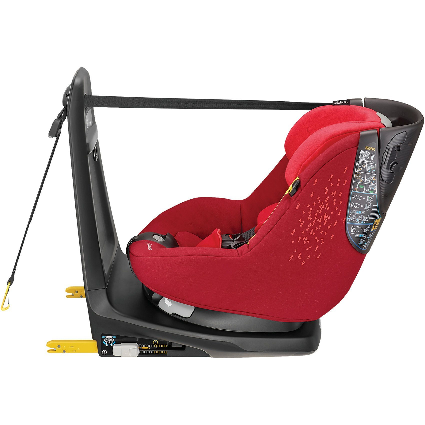 Maxi-Cosi Auto-Kindersitz AxissFix, Vivid Red, 2018
