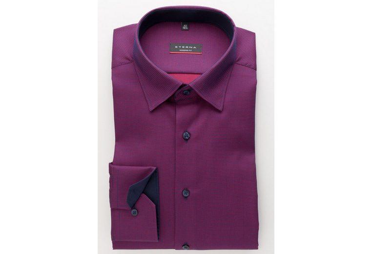 Billig Verkauf Hochwertiger ETERNA Langarm Hemd Langarm Hemd MODERN FIT Billig Günstig Online Spielraum Rabatte TR18lql