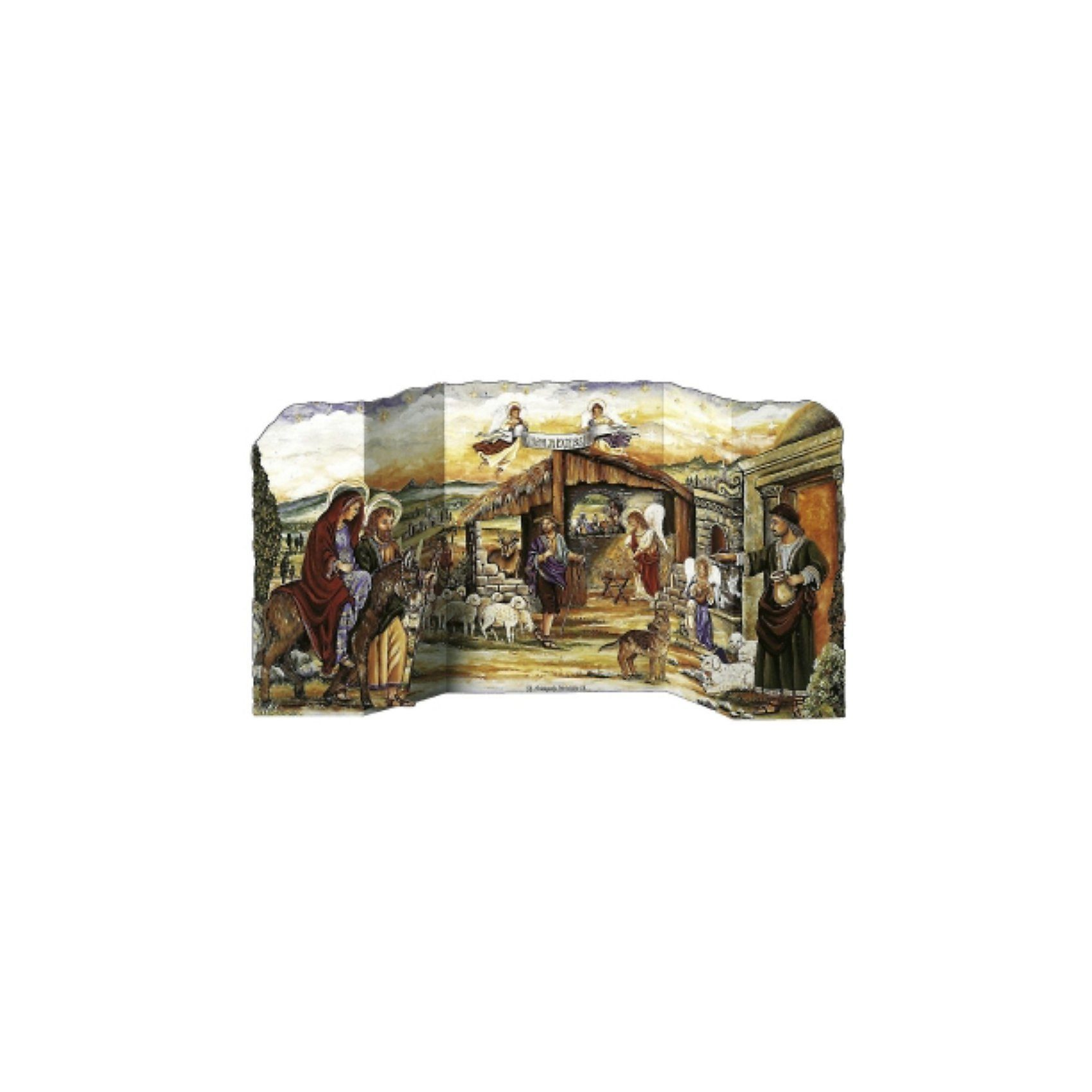 Korsch Verlag Herbergssuche, Adventskalender (27 x 57 cm)