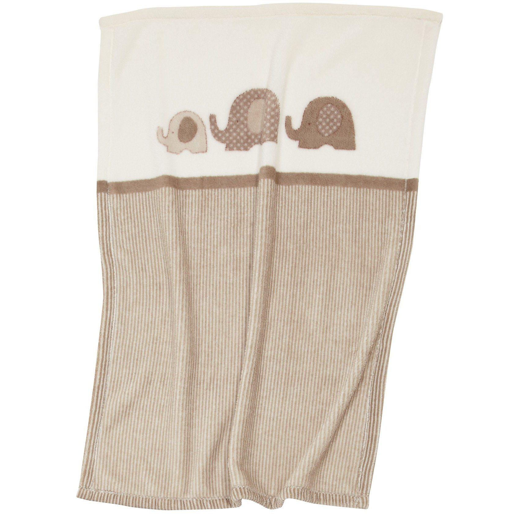 Babydecke mit UV-Schutz, Elefant, 75 x 100 cm | Kinderzimmer > Textilien für Kinder > Babytextilien | Polyester