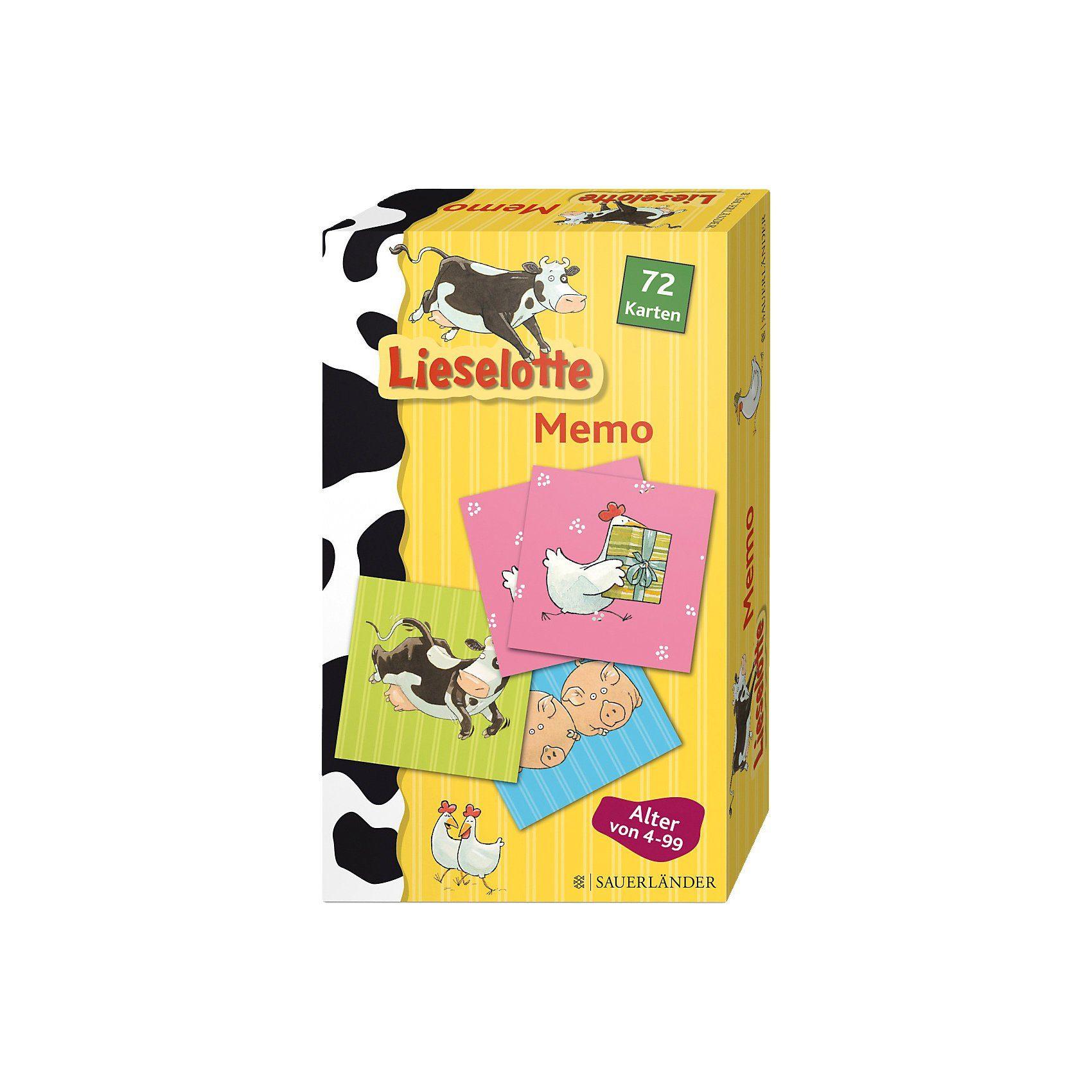 S. Fischer Verlag Lieselotte Memo-Spiel (Kinderspiel)