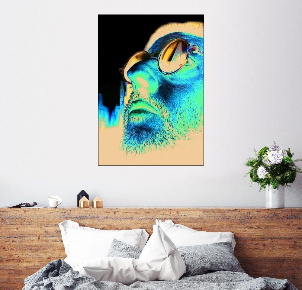 posterlounge wandbild leon der profi jean reno