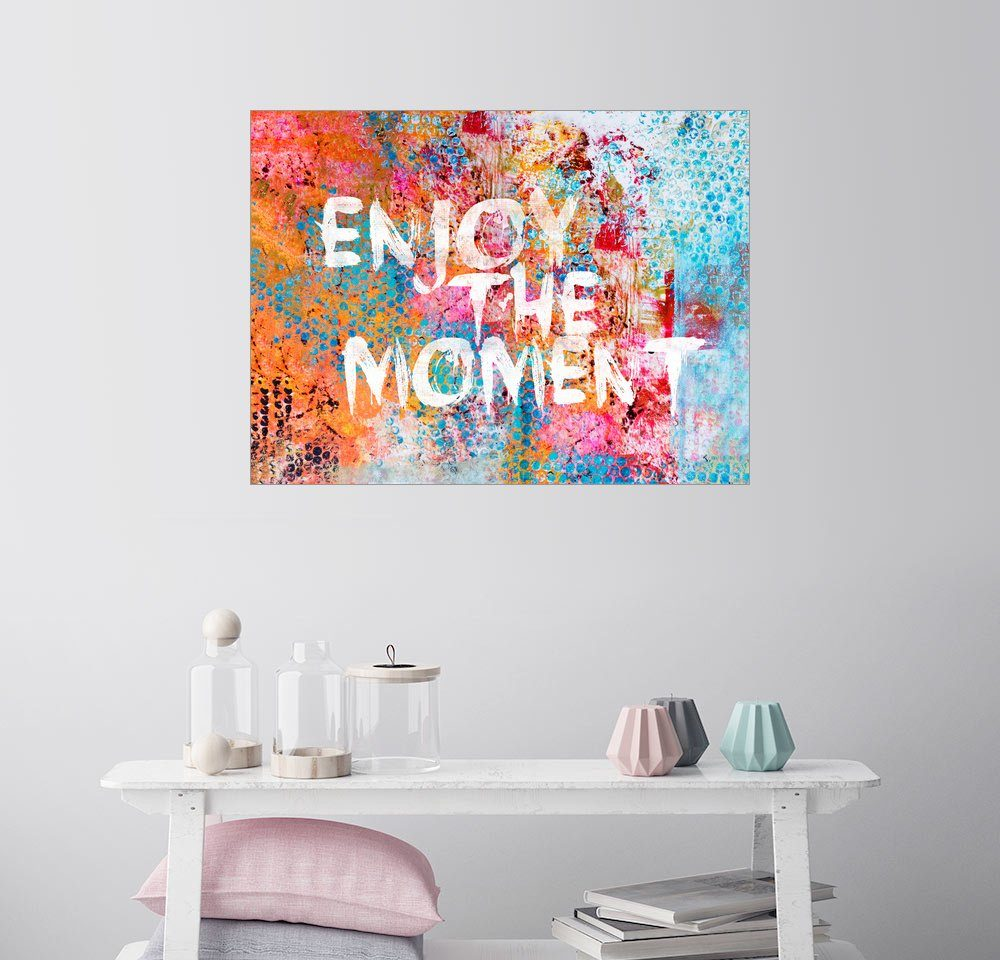 Posterlounge Wandbild - Andrea Haase »Enjoy the moment«