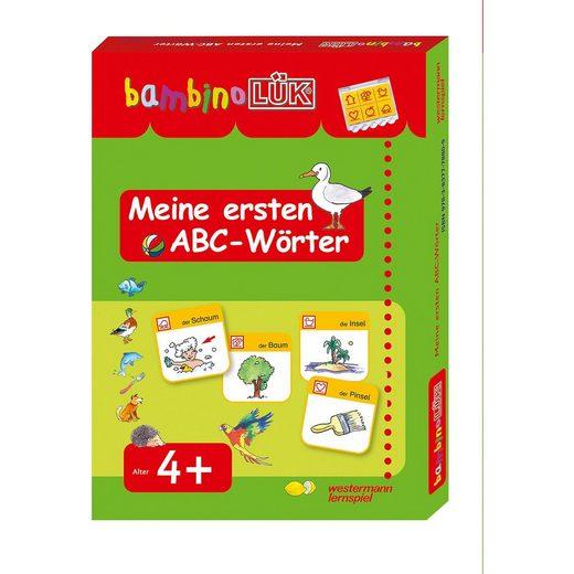 Westermann Verlag bambino LÜK: Meine ersten ABC-Wörter, Kontrollgerät mit Spir