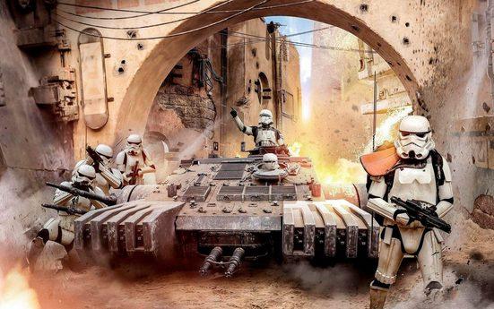 KOMAR Vliestapete »Star Wars Tanktrooper«