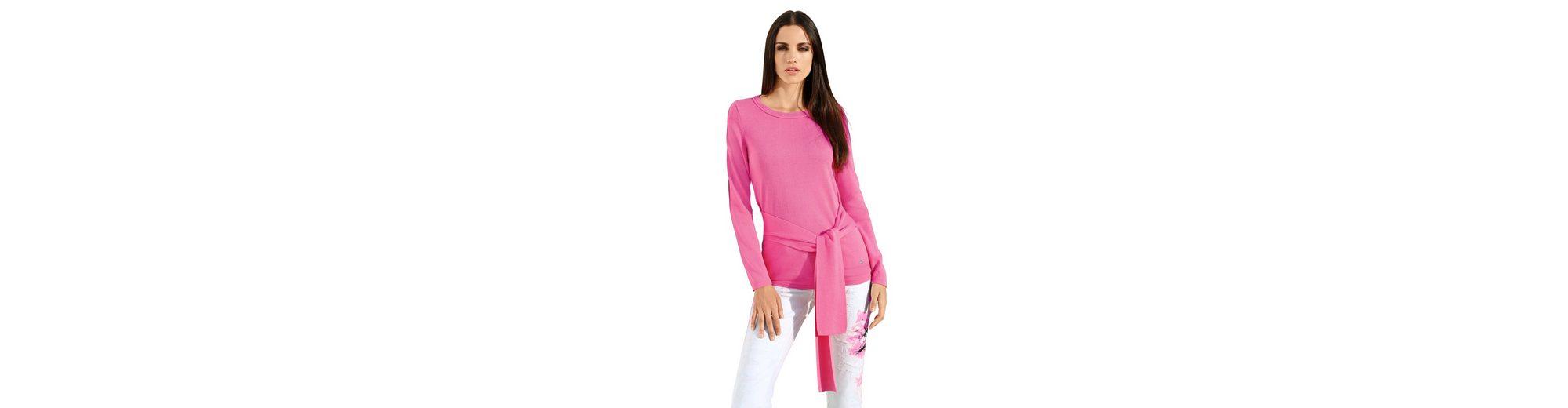 Für Schön Zu Verkaufen Amy Vermont Pullover mit Bindeband im Vorderteil Einkaufen Billig Verkauf Footlocker Finish m71GRMv2