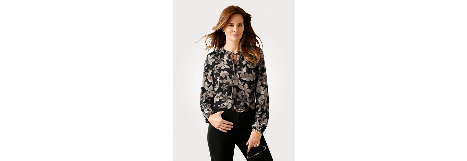 Zum Verkauf Online-Verkauf Online Einkaufen Mona Schlupfbluse mit floralem Druck Verkauf Wie Viel IHrVqjJI