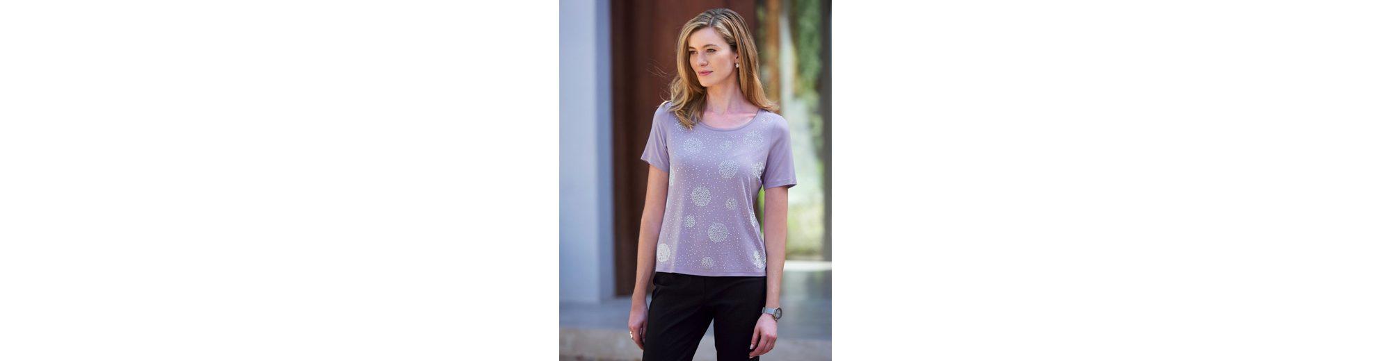 Mona Shirt mit Strass-Steinen und Zierplättchen Heißen Verkauf Zum Verkauf Spielraum Kaufen BXIEmhm