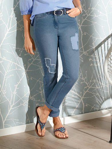 Mona Jeans in modischer Optik