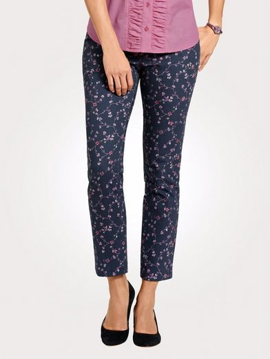 Mona Pants With Floral Print