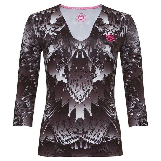 BIDI BADU Tennisshirt mit V-Ausschnitt »Ariana Tech« | Sportbekleidung > Sportshirts | BIDI BADU