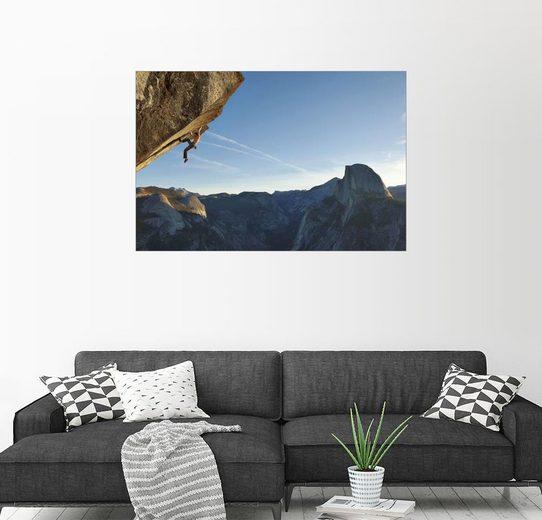 Posterlounge Wandbild - Mikey Schaefer »Freeclimber«