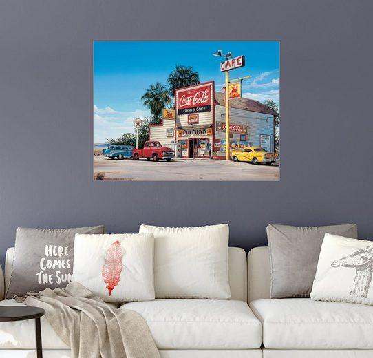 Posterlounge Wandbild - Georg Huber »Cafe Caravan«