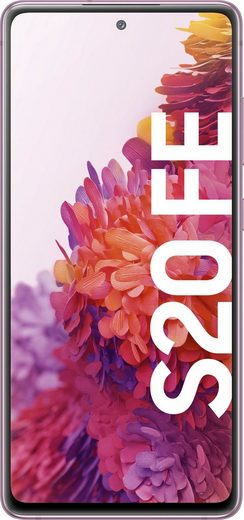 Samsung S20 FE (2021) Smartphone (16,4 cm/6,5 Zoll, 128 GB Speicherplatz, 12 MP Kamera)
