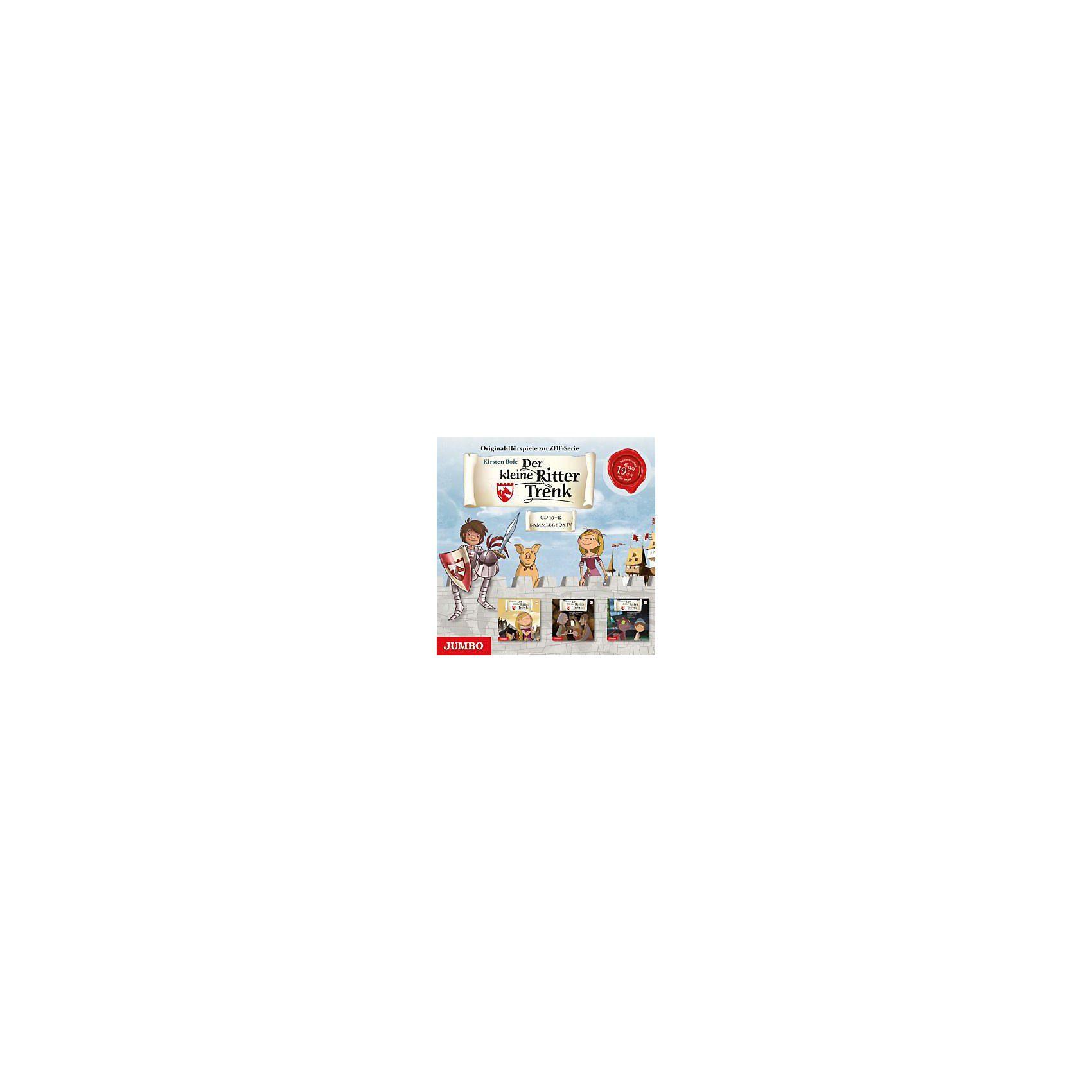 JUMBO Verlag Der kleine Ritter Trenk Sammelbox 4, Audio-CDs