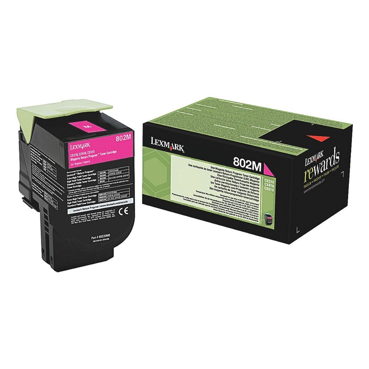 Lexmark Tonerkassette »802M«