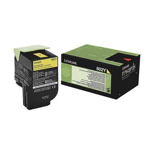 Lexmark Tonerkassette »802Y«