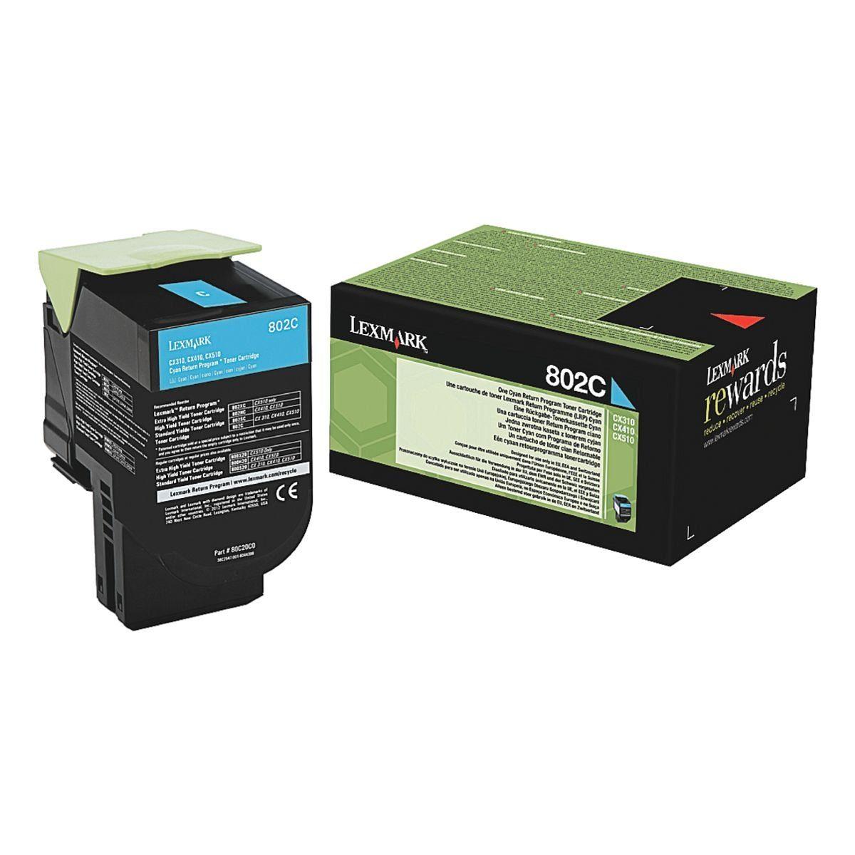 Lexmark Tonerkassette »802C«