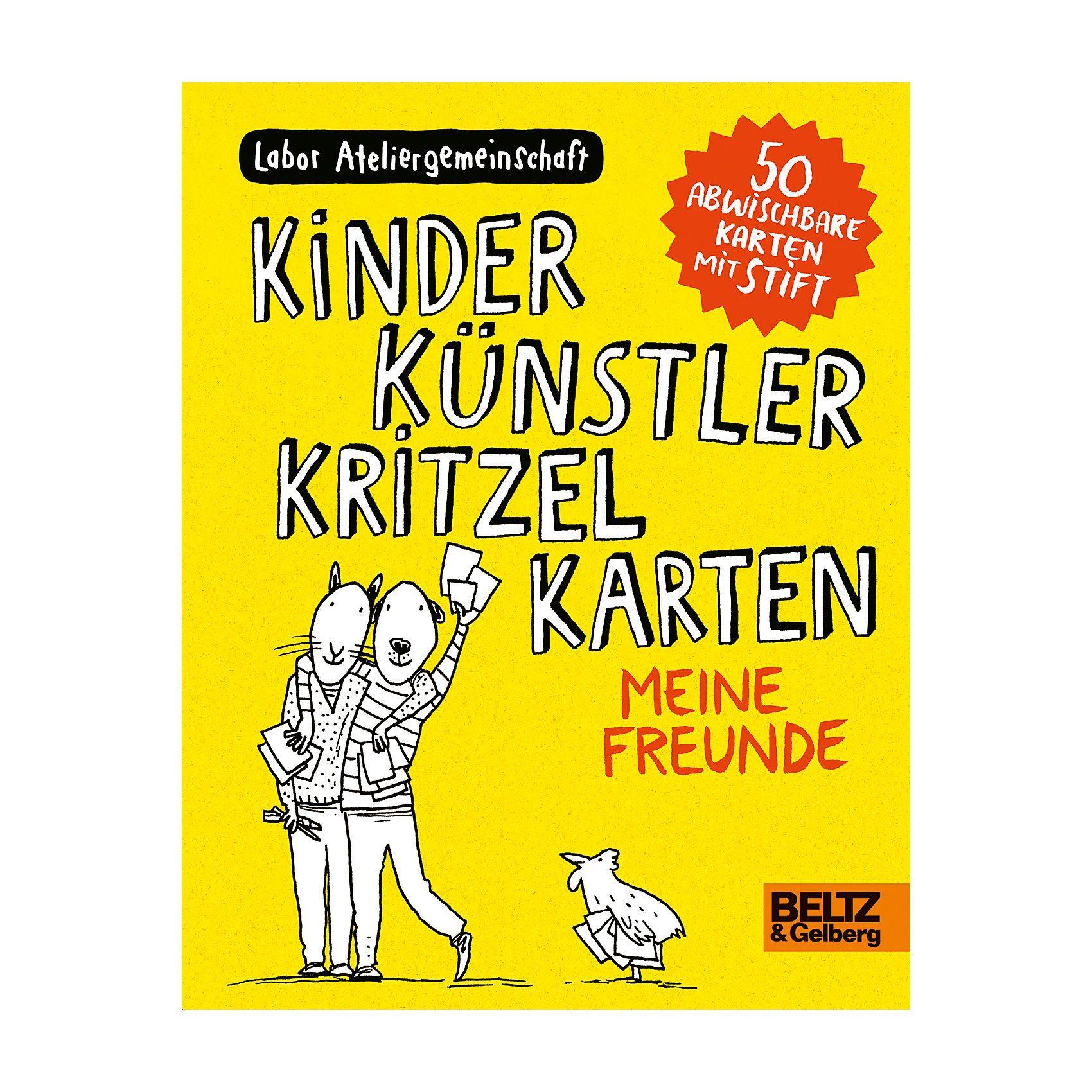 Beltz Verlag Kinder Künstler Kritzelkarten: Meine Freunde