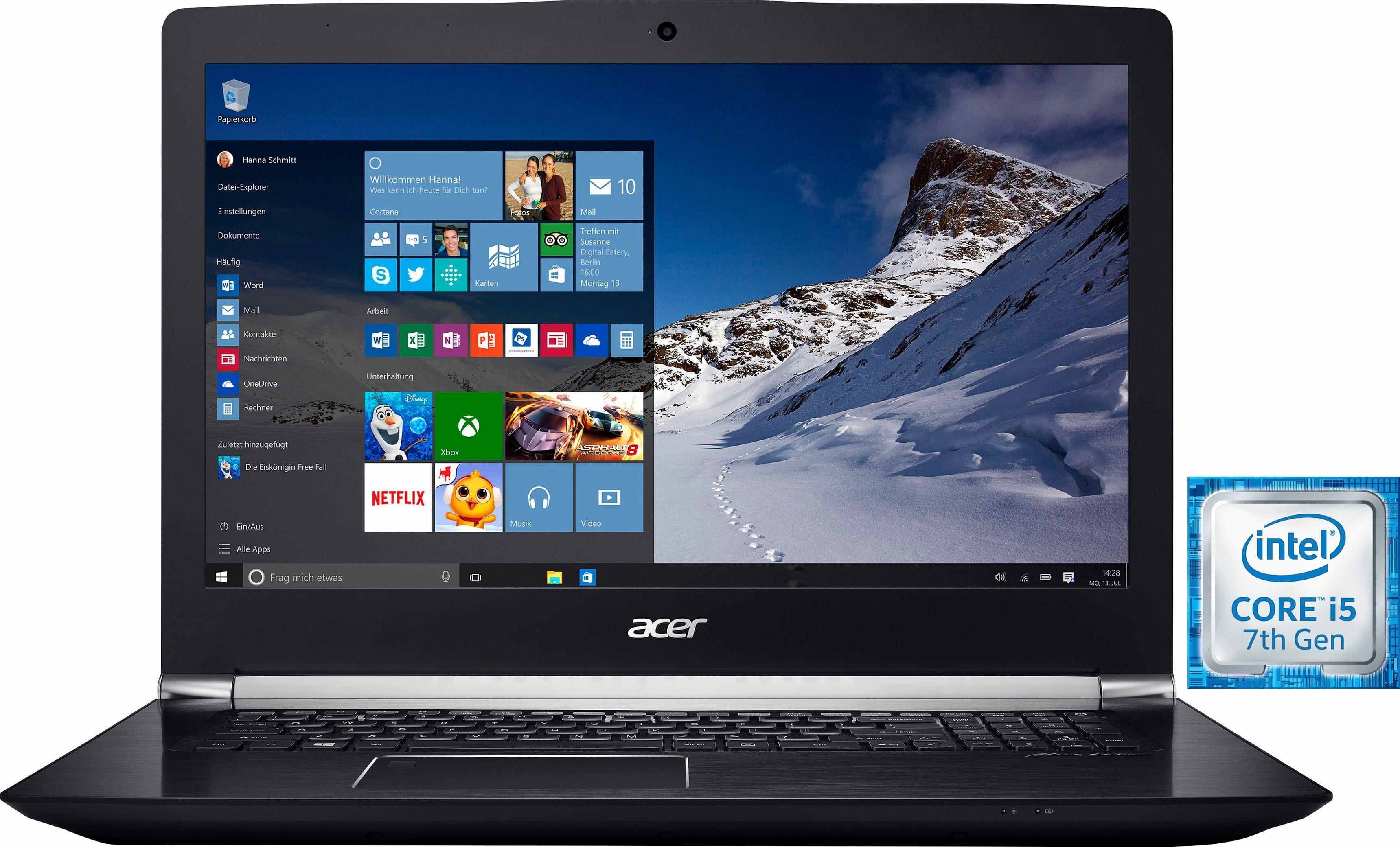 Acer Aspire V 17 Nitro Black Edition (VN7-793G-53TR) Notebook, Intel® Core™ i5, 43,9 cm (17,3 Zoll)