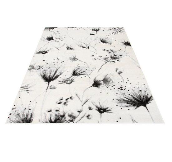 Teppich »Pencil Flowers«, Guido Maria Kretschmer Home&Living, rechteckig, Höhe 8 mm