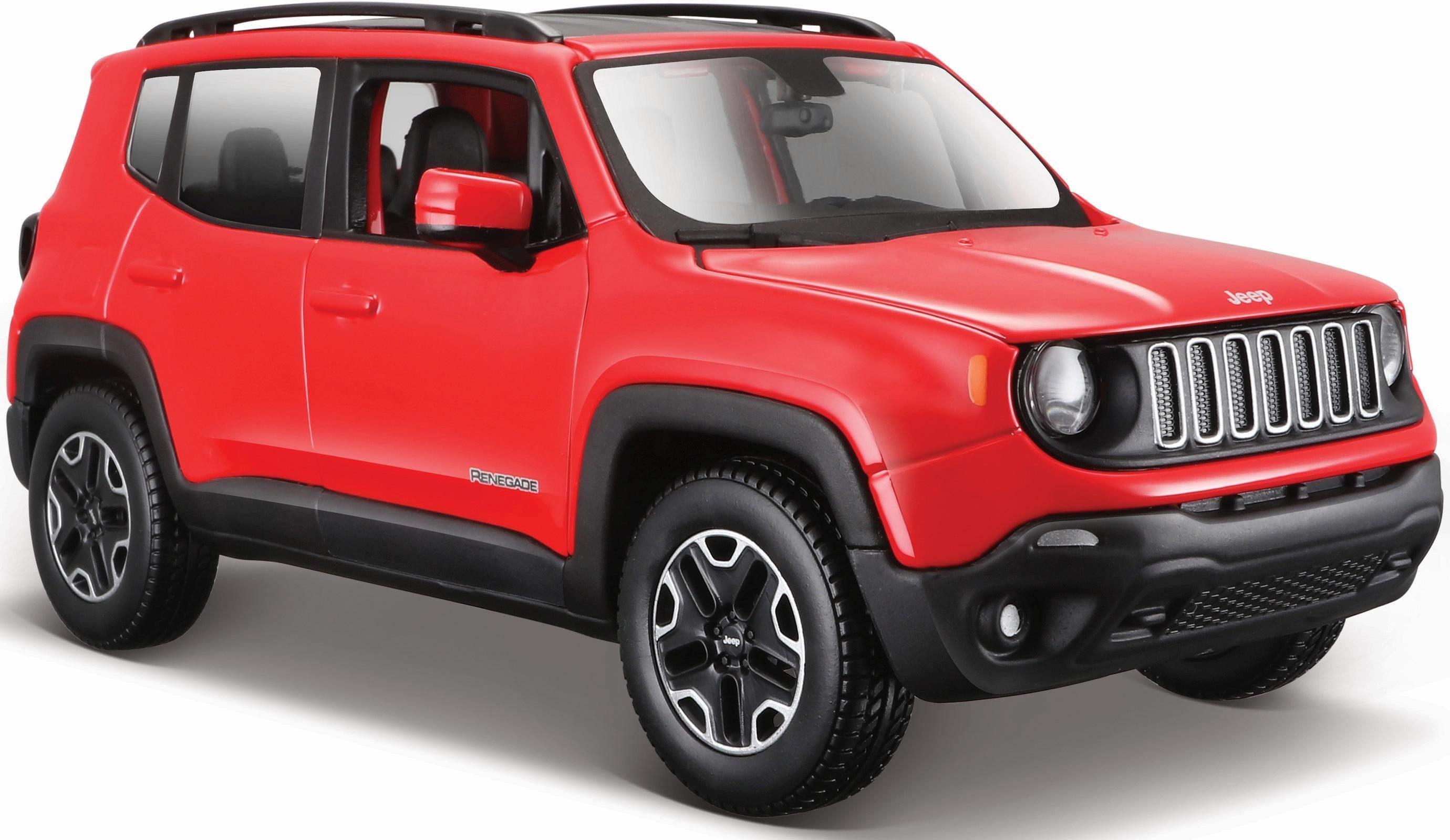 Maisto® Sammlerauto, »Jeep Renegade, 1:24, grau«