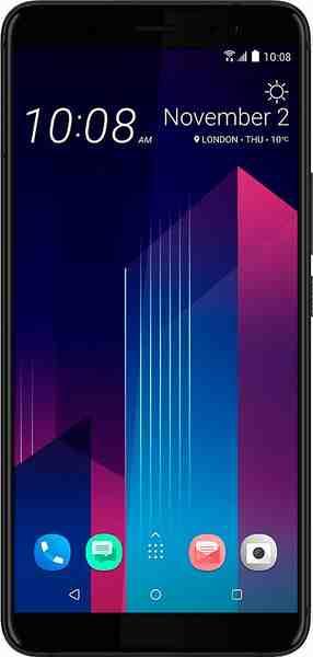 HTC U11 Plus Smartphone (15,24 cm/6 Zoll, 128 GB Speicherplatz, 12 MP Kamera)