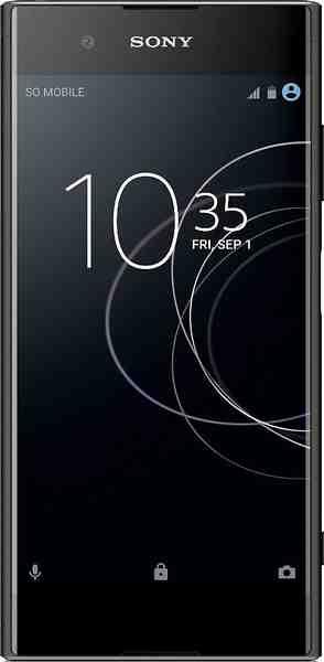 Sony XA1 Plus Smartphone (14 cm/5,5 Zoll, 32 GB Speicherplatz, 23 MP Kamera)