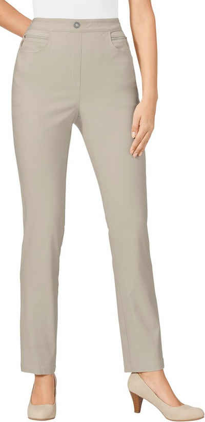 85e77952c5be Classic Basics Hose mit Zier-Reißverschlussblende