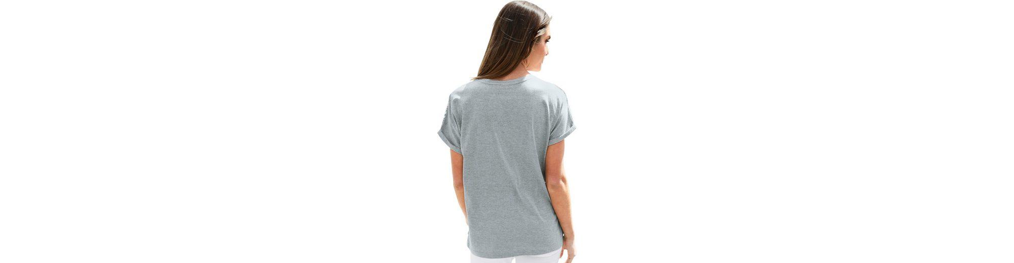 Classic Basics Shirt mit Druck Neue Stile Rabatt Zahlen Mit Paypal Rabatt Footlocker Finish Online Speichern Online Kaufen Authentisch DnbJY1v