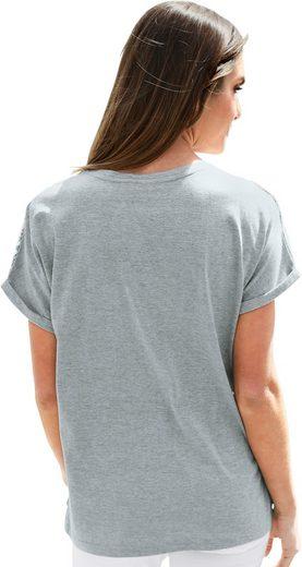 Classic Basics Shirt mit Druck