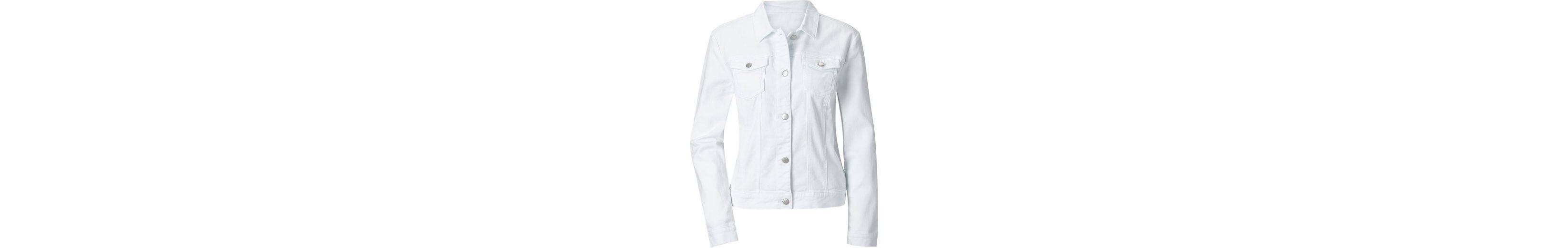 Ambria Jeansblazer mit typischem Hemdkragen Bestes Geschäft Zu Bekommen Qnc3JgGZ