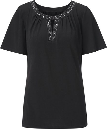 Ambria Shirt mit Ziersteinchen