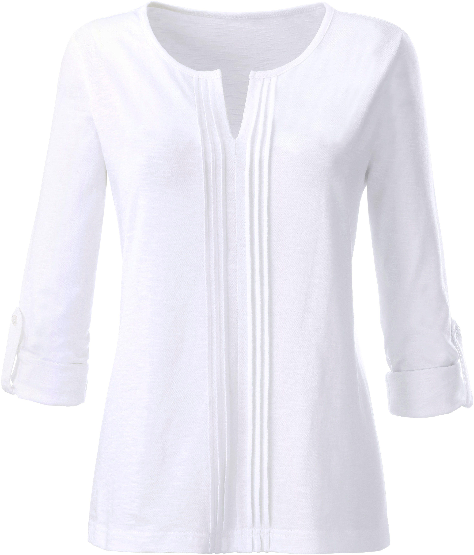 Kaufen FlammgarnBaumwolle Aus Shirt Online Ambria ZkXiuP