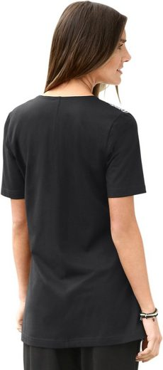 Classic Basics Shirt mit Ethno-Muster