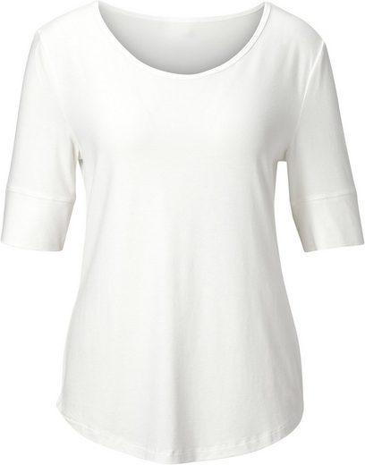 Classic Inspirationen Shirt mit abgerundetem Saum